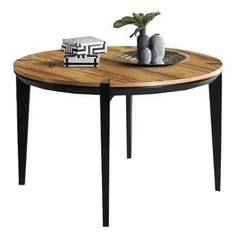 Stół okrągły 120 rozkładany Moreno - Dł. po rozłożeniu: 220 cm
