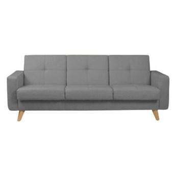 Sofa Como - Rozkładana z funkcją spania - Kolor: Szary 231x87x87