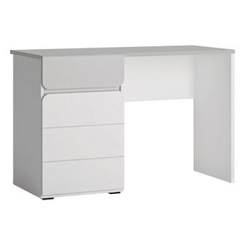 Funkcjonalne biurko z drzwiami i szufladą do pokoju dziecięcego Flexi 118x77x54