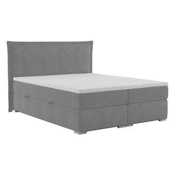 Łóżko kontynentalne 160 Toress - Kolor: Szary
