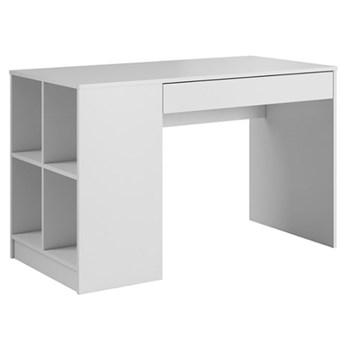 Biurko Antek - 120x60 cm - Kolor: Biały Matowy