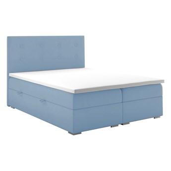 Łóżko kontynentalne 180 Rico - Kolor: Szary