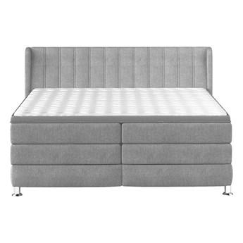 Łóżko kontynentalne 160 Balmo - Kolor: Szary