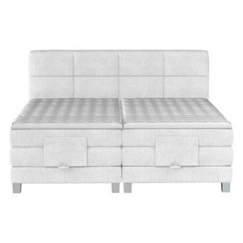 Łóżko kontynentalne 180 Square II - Kolor: Beżowy