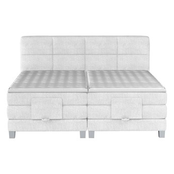 Łóżko kontynentalne 180 Square IV - Kolor: Beżowy