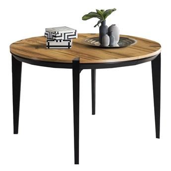 Stół okrągły 100 rozkładany Moreno - Dł. po rozłożeniu: 180 cm
