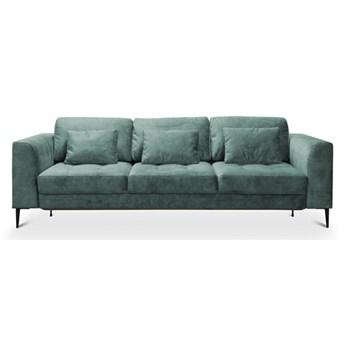 Sofa Luzi - Rozkładana z funkcją spania - Kolor: Zielony 234x80x99