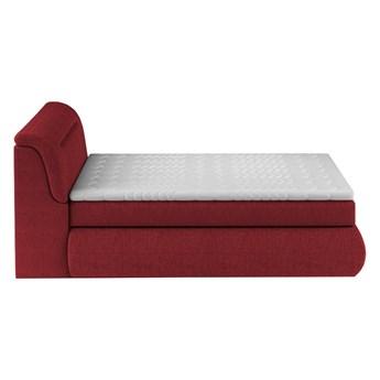 Łóżko kontynentalne 100 Pula - Kolor: Czerwony