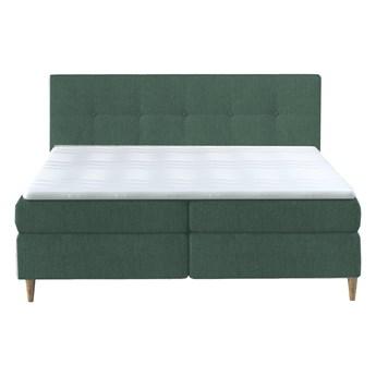Łóżko kontynentalne 140 Eden - Kolor: Zielony