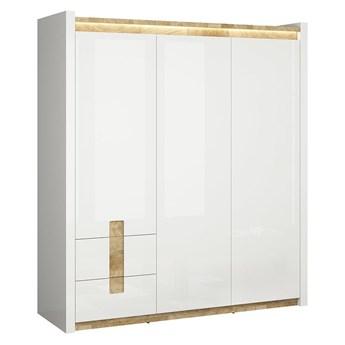 Pojemna szafa z drzwiami i szufladami do sypialni Alameda 180x201.5x60