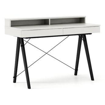 Biurko 120x50 Basic+ Black / White
