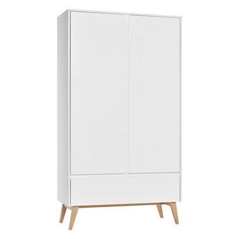 Pojemna szafa z drzwiami i szufladą do pokoju dziecięcego Swing 100x199.5x52.5