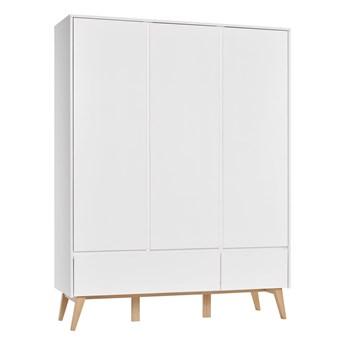 Duża i pojemna szafa z drzwiami i szufladami do pokoju dziecięcego Swing 148.9x199.5x52.5