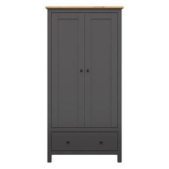 Pojemna szafa z drzwiami i szufladą do sypialni Hesen 101x203x44