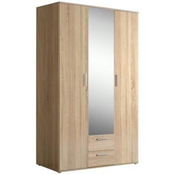 Pojemna szafa z drzwiami i szufladami do sypialni Nano 121x200x54