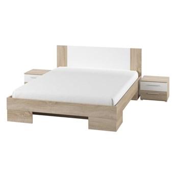 Łóżko 180 Vera z szafkami nocnymi