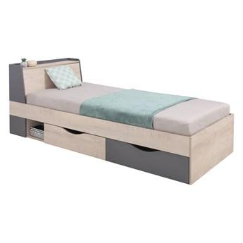 Łóżko z szufladami do pokoju młodzieżowego Delta 90