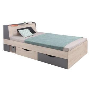 Łóżko z szufladami do pokoju młodzieżowego Delta 120