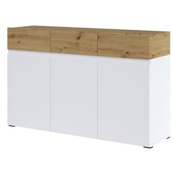 Nowoczesna komoda z szafkami i szufladami do salonu Rimini 134.9x85.5x40