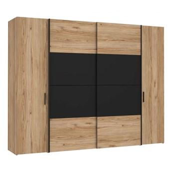 Duża i pojemna szafa do sypialni Delate 270.3x210x61.2