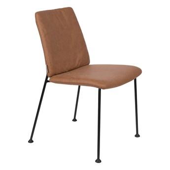 Krzesło brązowe Fab 48x79x56