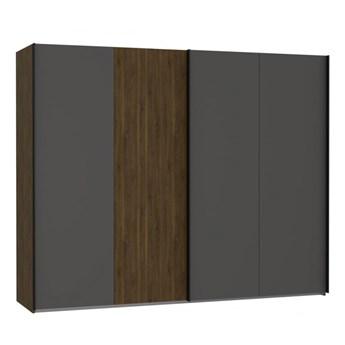 Duża przesuwna szafa dwudrzwiowa do sypialni Quetore 269.9x210.5x61.2