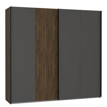 Duża pojemna szafa z drzwiami przesuwnymi do sypialni Quetore 220.1x210.5x61.2