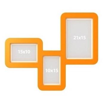 Ramki TriFrame - Kolor: Pomarańczowy