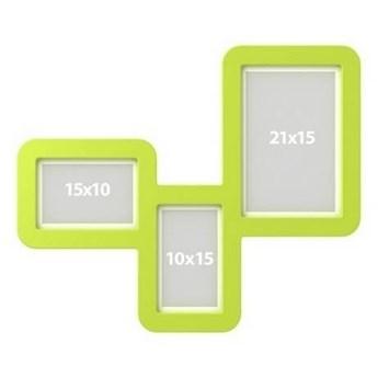 Ramki TriFrame - Kolor: Zielony