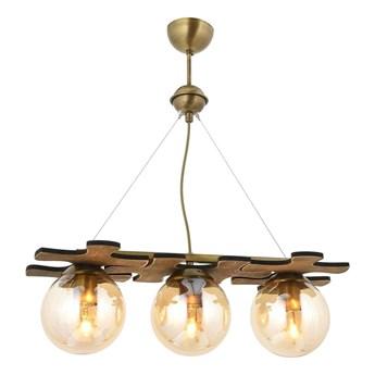 Lampa wisząca vintage  avonni av-1588-3ey patyna  kuchnia restauracja, kawiarnia pub