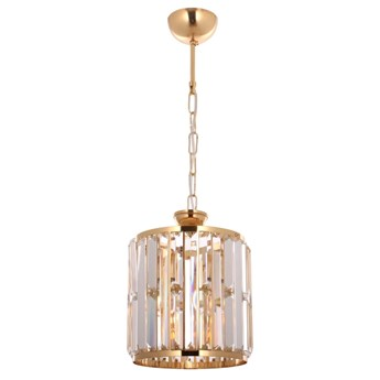 Kryształowa lampa wisząca  avonni av-1667-1BSY  salon sypialnia jadalnia przedpokój kuchnia