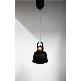 Outlet 116 Czarna ledowa lampa wisząca ozcan 6513-1a czarny zwis