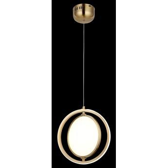Nowoczesna miedziana lampa wisząca 80328-01-PS2-CO BONORVA SALON SYPIALNIA JADALNIA LUCEA STL
