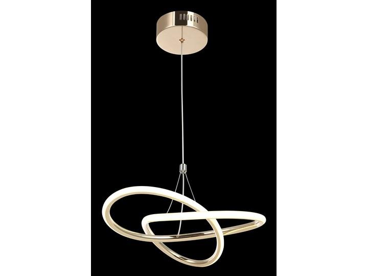 Nowoczesna złota lampa wisząca 80231-01-PM1-FG LEVES SALON SYPIALNIA JADALNIA LUCEA STL Lampa inspirowana Metal Styl Nowoczesny
