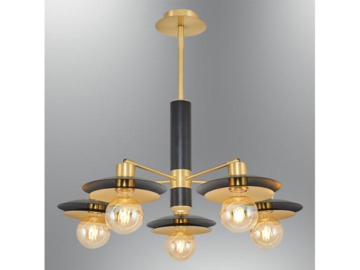 Nowoczesna lampa sufitowa 4039-5A,19 czarna ozcan salon sypialnia jadalnia Metal Żyrandol Styl Nowoczesny Kolor Złoty