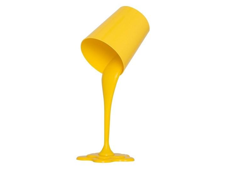 Żółta lampka nocna ozcan 6315-15 stolikowa lampa biurkowa Wysokość 38 cm Lampa nocna Lampa dekoracyjna Kolor Żółty