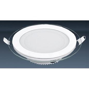 Okrągły panel led slim 12w ozcan 202-12 16cm lampa podtynkowa z zasilaczem 6500k