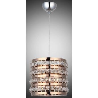 Elegancka  patynowa kryształowa lampa wisząca lucea area 8130-53-11   salon sypialnia jadalnia hotel restauracja