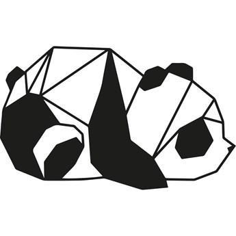 Czarna dekoracja ścienna Tanelorn Panda