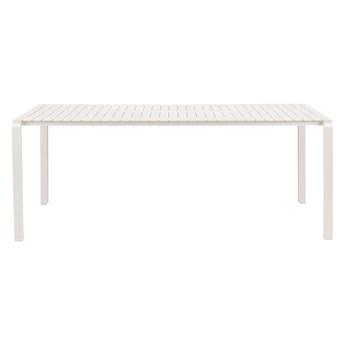 Stół ogrodowy Vondel 214x97 biały 214x75x97