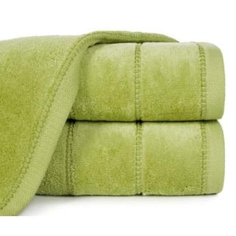 Ręcznik z welurową bordiurą o gramaturze 500 g/m2, 50x90 cm