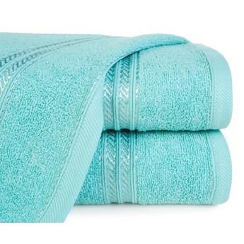 Ręcznik z bordiurą podkreśloną błyszczącą nicią o gramaturze 450 g/m2, 30x50 cm