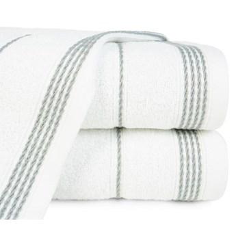 Ręcznik z bordiurą w formie sznurka o gramaturze 500 g/m2, 70x140 cm