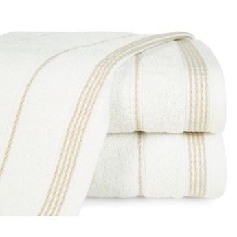 Ręcznik z bordiurą w formie sznurka o gramaturze 500 g/m2, 50x90 cm