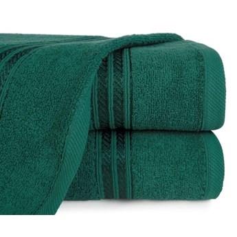 Ręcznik z bordiurą podkreśloną błyszczącą nicią o gramaturze 450 g/m2, 50x90 cm