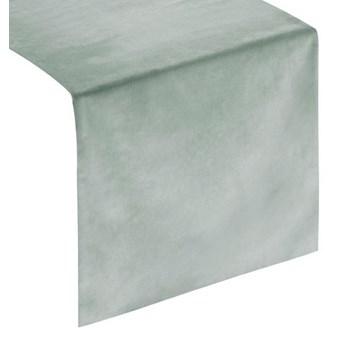 Gładki bieżnik welwetowy, 35x140 cm