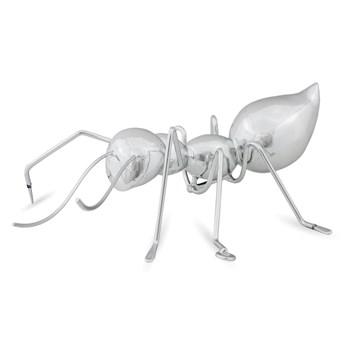 Figurka MRÓWKA srebrna