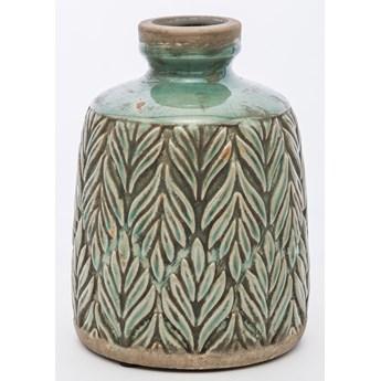 Wazon ceramiczny FLORA M turkusowy