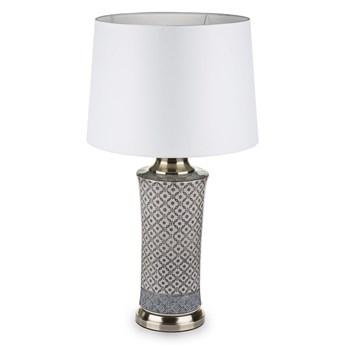 Lampa ceramiczna ARIA z białym abażurem
