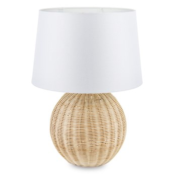 Lampa stołowa na rattanowa ARIANNA